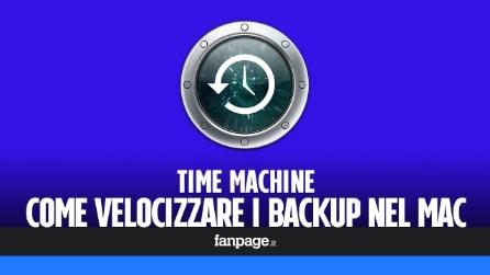 Backup Time Machine lento? Ecco come velocizzare i backup Mac