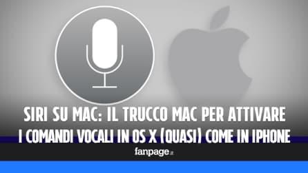 Siri su Mac: il trucco per attivare i comandi vocali in OS X (quasi) come in iPhone