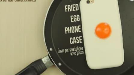 Ecco come creare una simpatica cover per smartphone a forma di uovo a occhio di bue