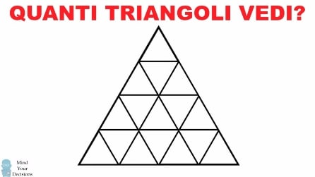 Quanti triangoli vedi? Contali attentamente