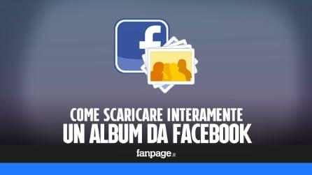 Come scaricare interamente un album Facebook