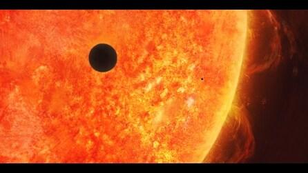 Lo spettacolare passaggio di Mercurio davanti al Sole