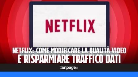 Netflix: come modificare la qualità video e risparmiare dati cellulare