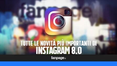 Instagram 8.0: nuova icona, nuova grafica e tutte le novità dell'aggiornamento