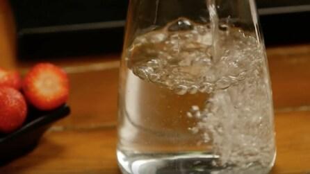 Ecco il trucco infallibile per bere più acqua!