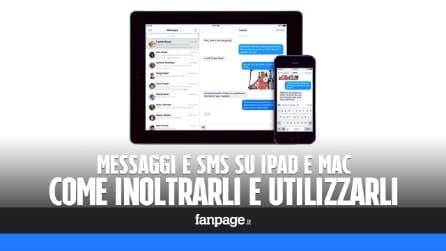 SMS su iPad e Mac: come inoltrarli e utilizzare il tablet per rispondere