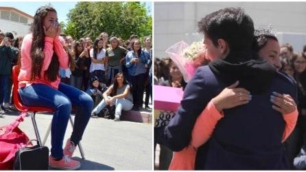 Organizza un flash mob per invitarla a ballo: l'emozionate proposta a scuola