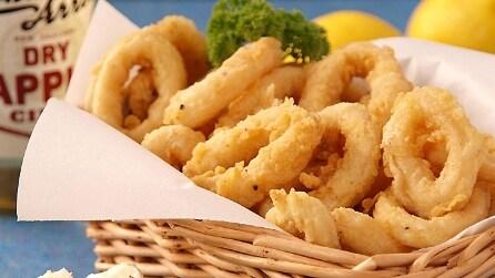 Come preparare una gustosa frittura di calamari