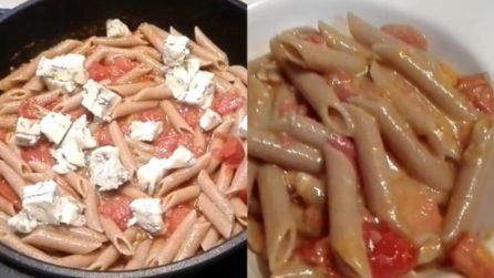 Penne di farro con sugo e gorgonzola: la cena ideale per chi ha voglia di pasta