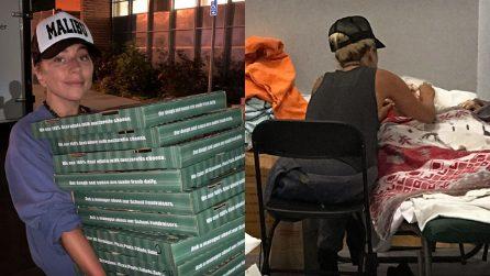 Incendio in California, Lady Gaga aiuta gli sfollati di Malibu portando pizze e caffè
