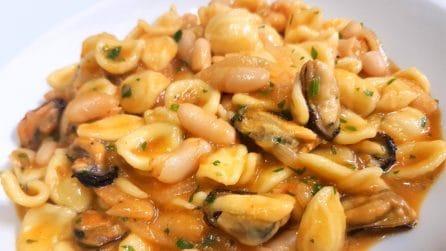 Orecchiette fagioli e cozze: un piatto semplice per un sapore unico