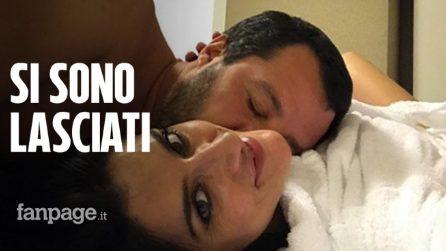 Matteo Salvini ed Elisa Isoardi si sono lasciati: ecco il post su Instagram