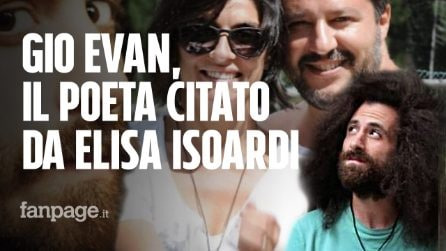 "Gio Evan sulle poesie tanto amate da Elisa Isoardi: ""Ci sentiamo, ma non ho votato Matteo Salvini"""