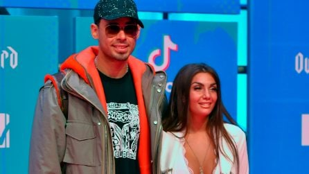 Elettra Lamborghini è fidanzata con Afrojack, il primo video in coppia