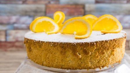 Chiffon cake all'arancia: alta, soffice e golosa!