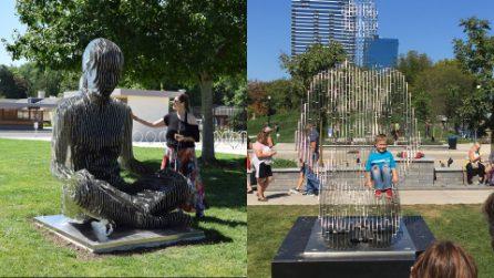 Le statue che spariscono nel nulla. L'arte di Julian Voss-Andreae si fonde con la fisica quantistica
