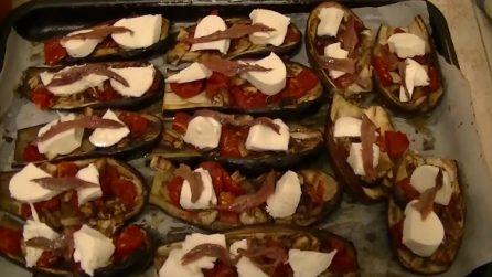 Barchette di melanzane: il contorno squisito e semplice