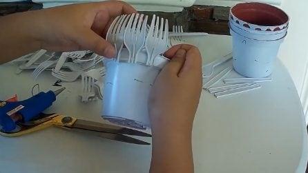 Come riutilizzare le forchette di plastica: l'idea davvero creativa