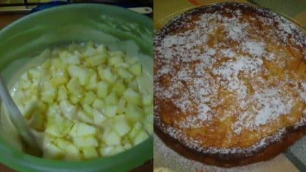 Torta rustica di mele: buonissima, facile e veloce