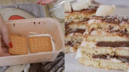 Mattonella al cioccolato e mascarpone: un dessert senza cottura golosissimo