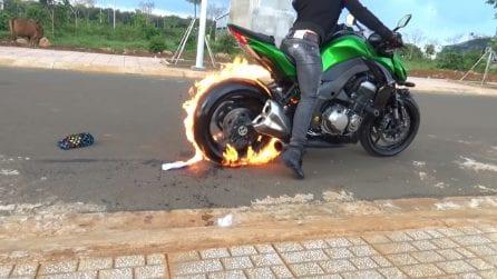 Accelera la sua Kawasaki Z1000: l'effetto straordinario