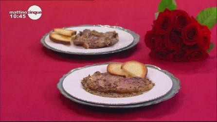 Lombatine di vitello ai semi di finocchio: un secondo gustoso e profumato
