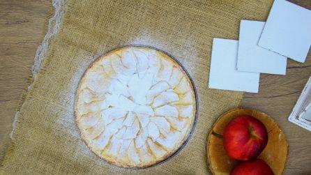 Ricotta and apple pie