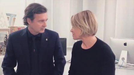 """Simona Ventura e Gerò Carraro annunciano: """"Abbiamo deciso di lasciarci"""""""
