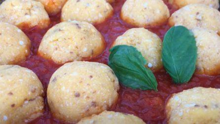 Polpette di polenta al sugo: l'alternativa deliziosa e semplice da preparare