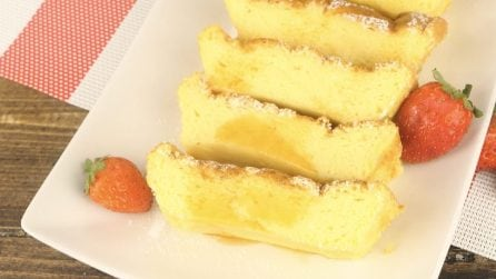 3 ingredient Japanese cake: a step-by-step recipe to make it creamy and delicious.