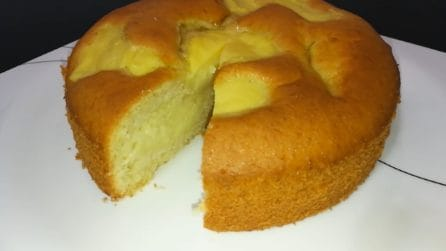 Torta Nua, la ricetta per un dolce soffice e veloce da preparare