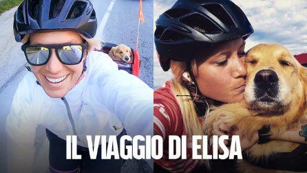 Il viaggio di Elisa Vottero con il suo cane Brigitta: 2200 km dalla Valsusa alla Sicilia