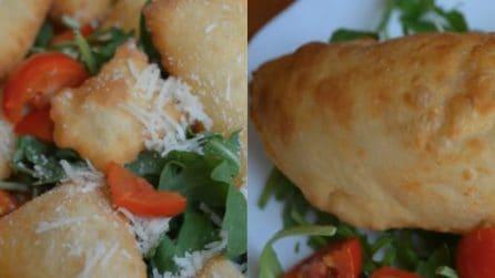Gnocco fritto e panzerotti: la ricetta saporita e semplice da preparare