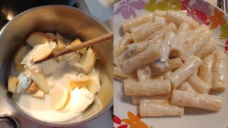 Rigatoni ai 4 formaggi: il primo piatto cremoso da preparare in pochi minuti