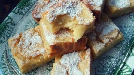 Quadrotti di mele soffici e deliziosi: ideali per la merenda dei più piccoli