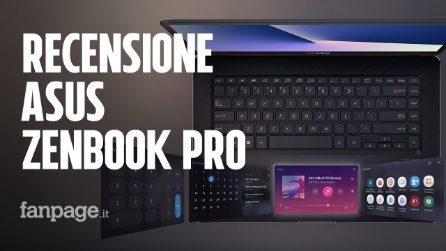 Recensione Asus ZenBook Pro: perché il display nel touchpad ha più senso della TouchBar dei Mac