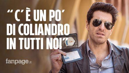 """Giampaolo Morelli: """"Coliandro è un'icona, lo immagino pensionato ma sempre uguale a se stesso"""""""