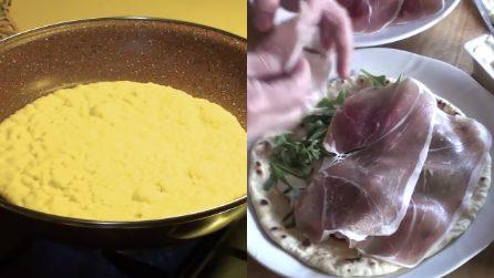 Piadine fatte in casa e cotte in padella: una ricetta semplice e saporita