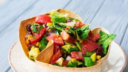 Salad basket: easy and tasty!