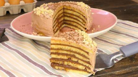 Torta di pancakes: i più golosi impazziranno dalla bontà!