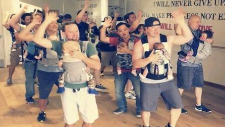 """I papà """"ballerini"""" si mettono in gioco per amore dei loro bambini e ci danno una lezione di vita"""