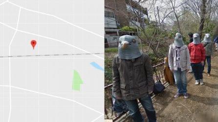 Una strana ricerca su Google Maps e il particolare che mette i brividi