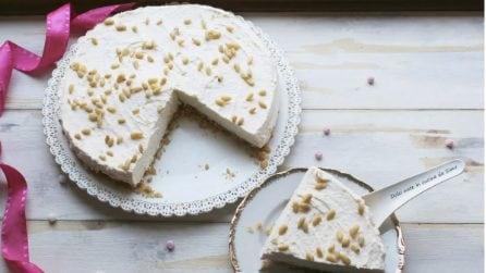 Torta della nonna senza cottura: la versione fredda del goloso dessert