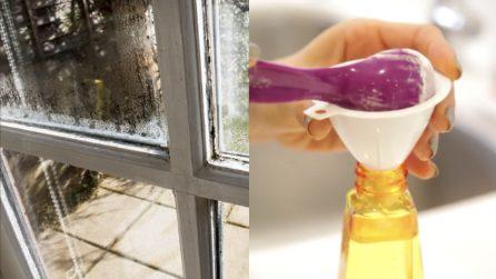 Come pulire i vetri delle finestre: un rimedio veloce ed efficace