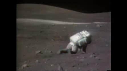 Gli astronauti 'inciampano' sulla Luna