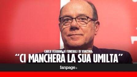 "Carlo Verdone ai funerali di Carlo Vanzina: ""Ci mancherà l'umiltà che lo rendeva un grande"""