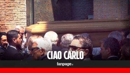 """Carlo Vanzina, il mondo del cinema saluta per l'ultima volta il grande regista: """"Non morirá mai"""""""