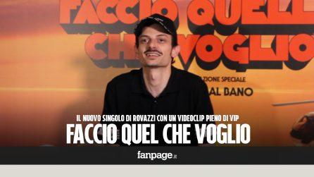 """Fabio Rovazzi, Faccio quel che voglio con Al Bano, Nek ed Emma: """"La rottura con Fedez? Cazzi nostri"""""""