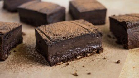 Torta magica al cioccolato: tre strati con una sola ricetta!