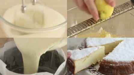 Torta limone e ricotta senza burro e lievito: si scioglierà in bocca